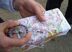 地図とコンパス