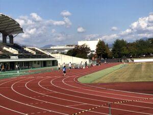 昨年のスプリント競技はスタジアムを用いて行われました。